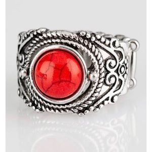 Paparazzi red ring